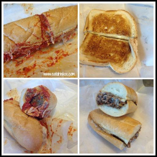capriotti's sandwich collage
