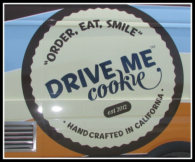 Drive Me Cookie sign