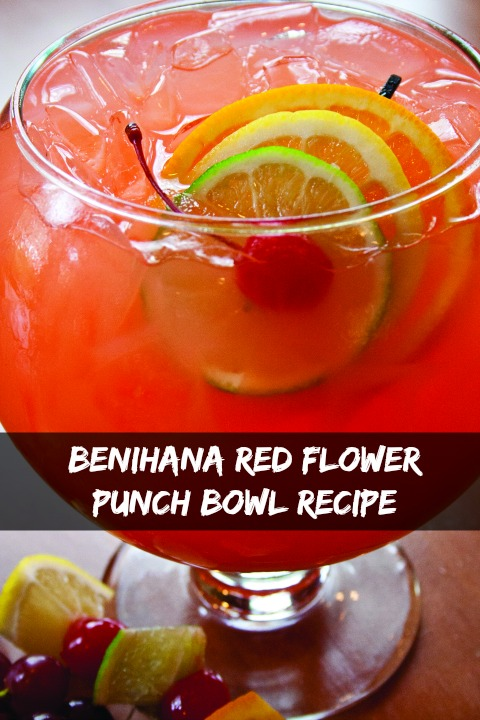 Benihana Punch Bowl