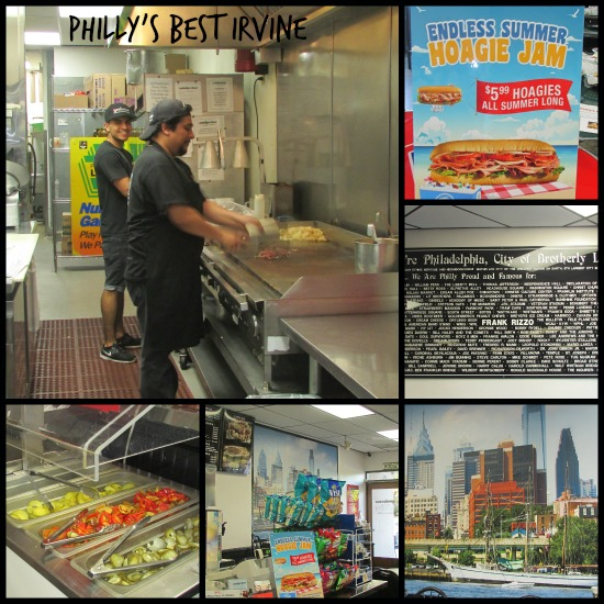 Philly's Best Irvine Collage