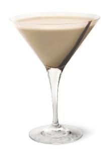 Vanilla Nut Martini mocktail