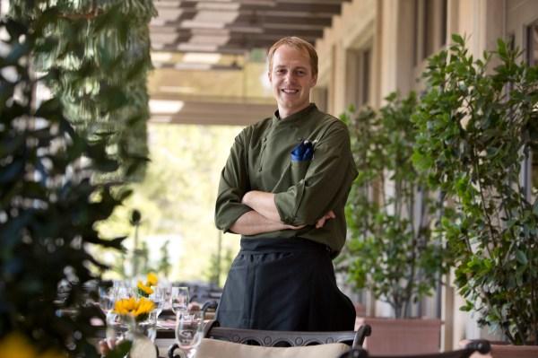 Pelican Grill Chef Luke Turpin