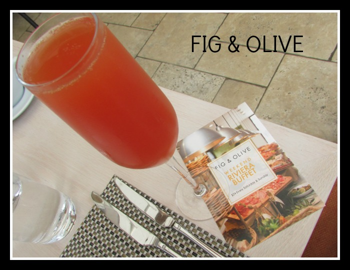 Fig & Olive Brunch