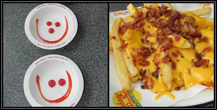 Johnny Rockets Bacon Cheese Fries
