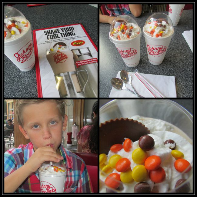 Johnny Rockets Reese's Peanut Butter Shake
