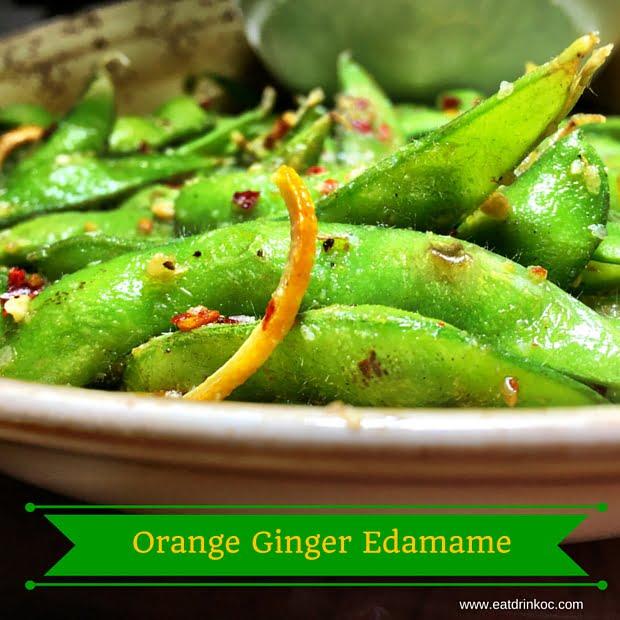 Orange Ginger Edamamde