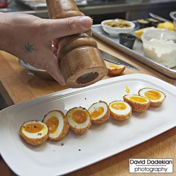 Preparing Fried Wishing Stone Farm Pullet Eggs