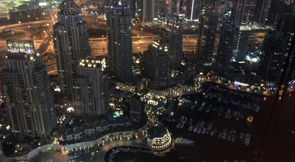 Eat Drink Stay Dubai - Dubai Marina night