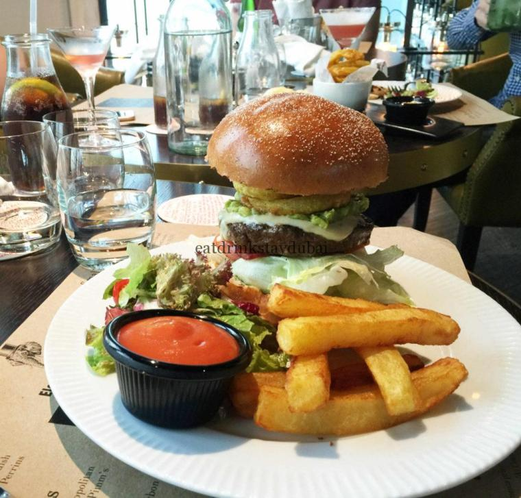 Eloquent Elephant Brunch: Mighty Elephant Burger