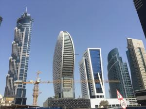 Hotel Review JW Marriott Marquis Dubai: exterior Business Bay 1