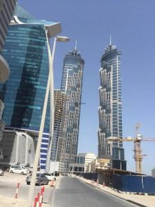 Hotel Review JW Marriott Marquis Dubai: exterior Business Bay 2