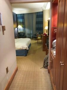Hotel Review Le Meridien Fairway: bedroom entrance