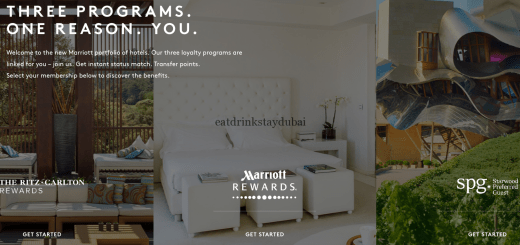 SPG Marriott Rewards Status Match main