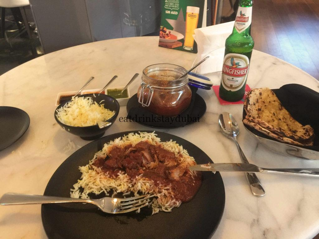 Spice & Ice Restaurant and Lounge meal Laal Maas