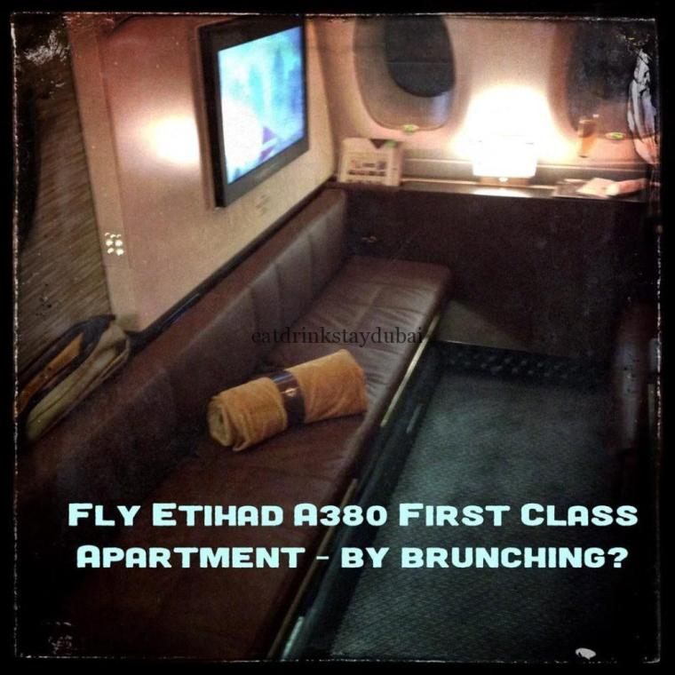 Fly Etihad A380 First Class Apartment by brunching