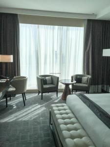 Steigenberger Hotel Dubai Review_bedroom 3