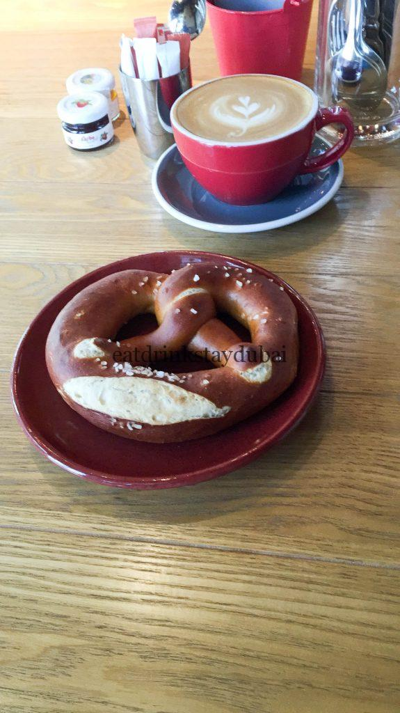 Brothaus Bakery Bistro_food pretzel