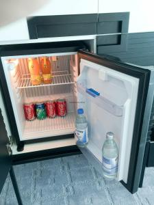 Steigenberger Hotel Dubai Review_room 4_fridge
