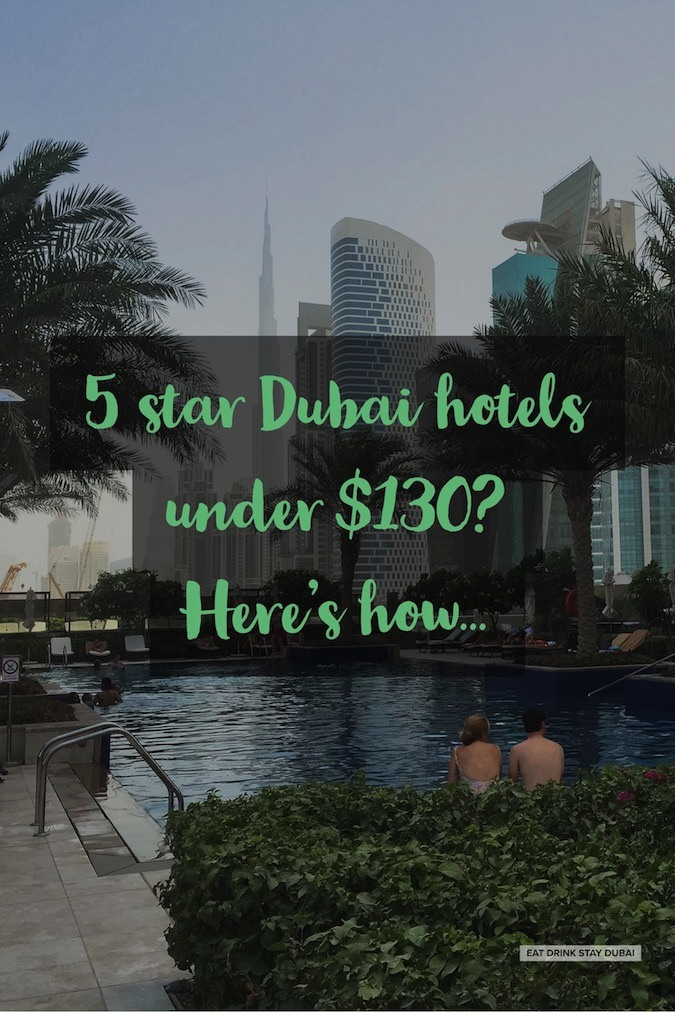 Business Hotels Dubai - 5 star Dubai hotels under $130