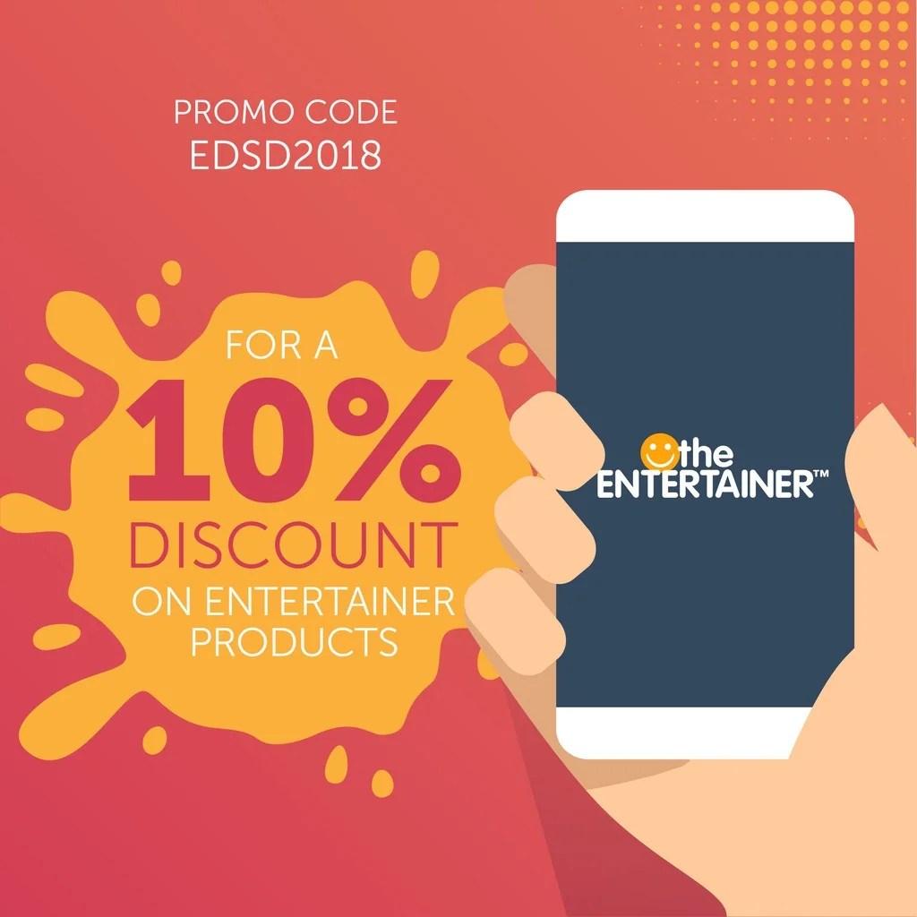 Entertainer Promo Code - EDSD2018