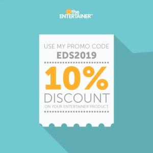 Entertainer Promo Code EDS2019