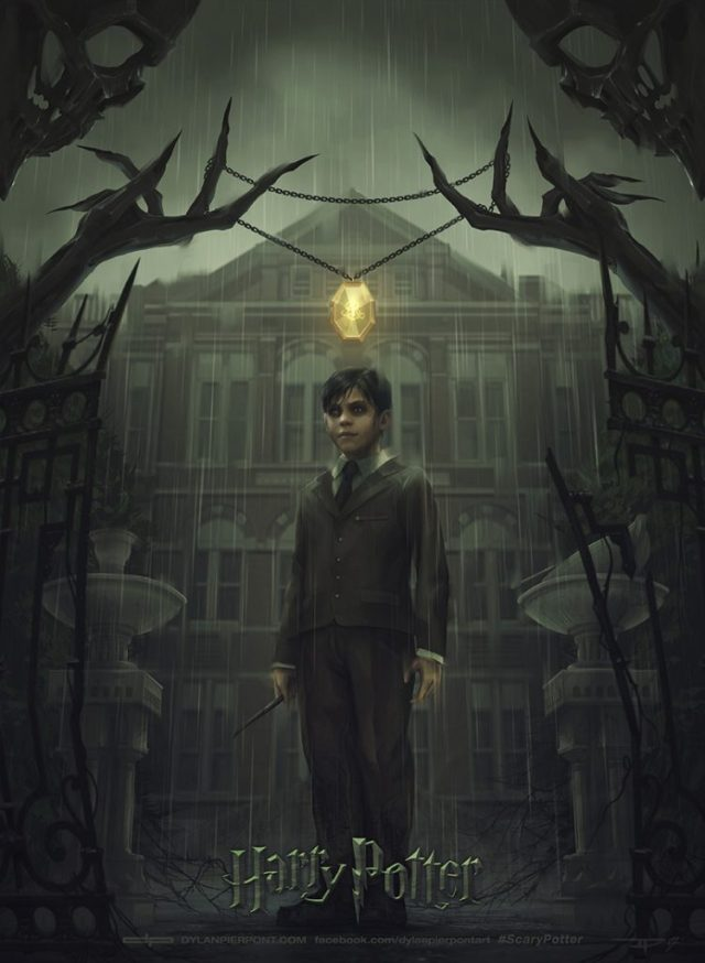 poster scary potter