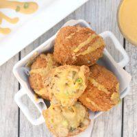 Vegan Fried Mac and Cheese