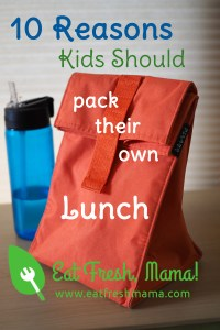 Reasons Kids Should Pack Lunch