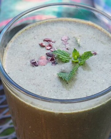 Minth Chocolate Chip Smoothie