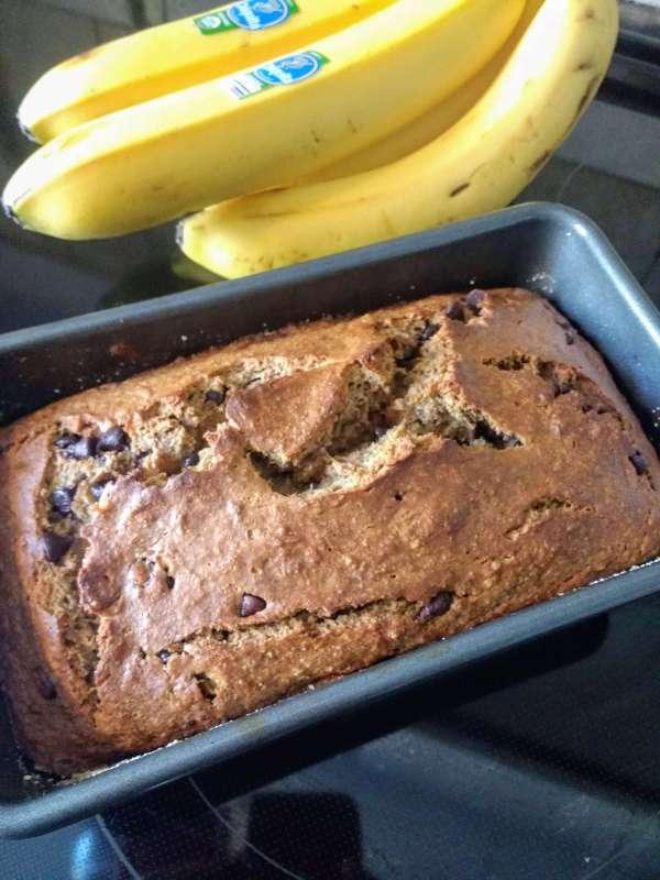 Decadent Gluten Free Banana Bread