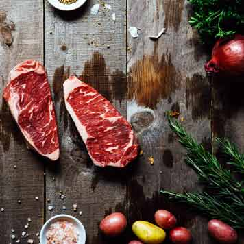 Mail Order Steak Online, Prime Center Cut Strip Loin from Meat the Butchers