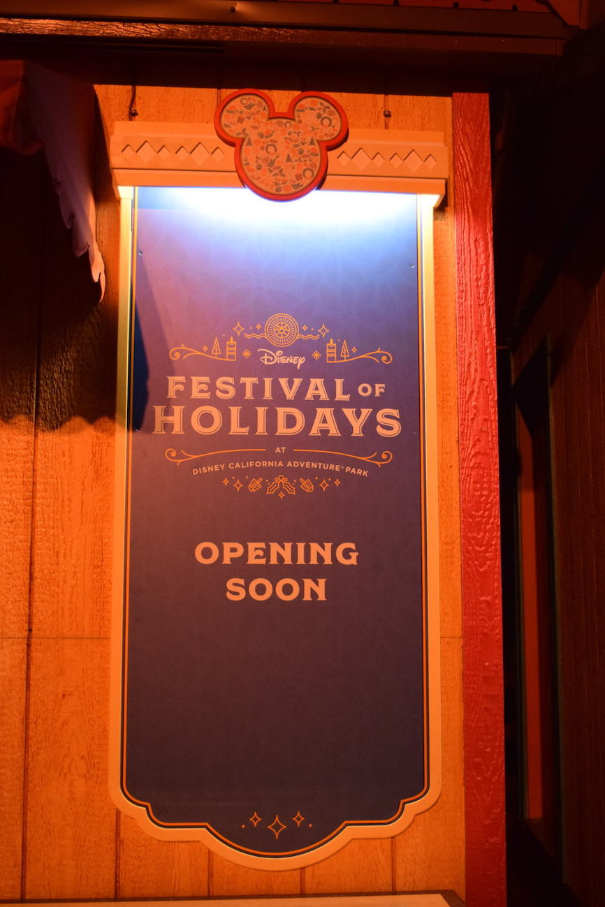 Disney Festival of Holidays Preview