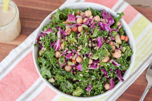 Kale and Cabbage Goddess Salad