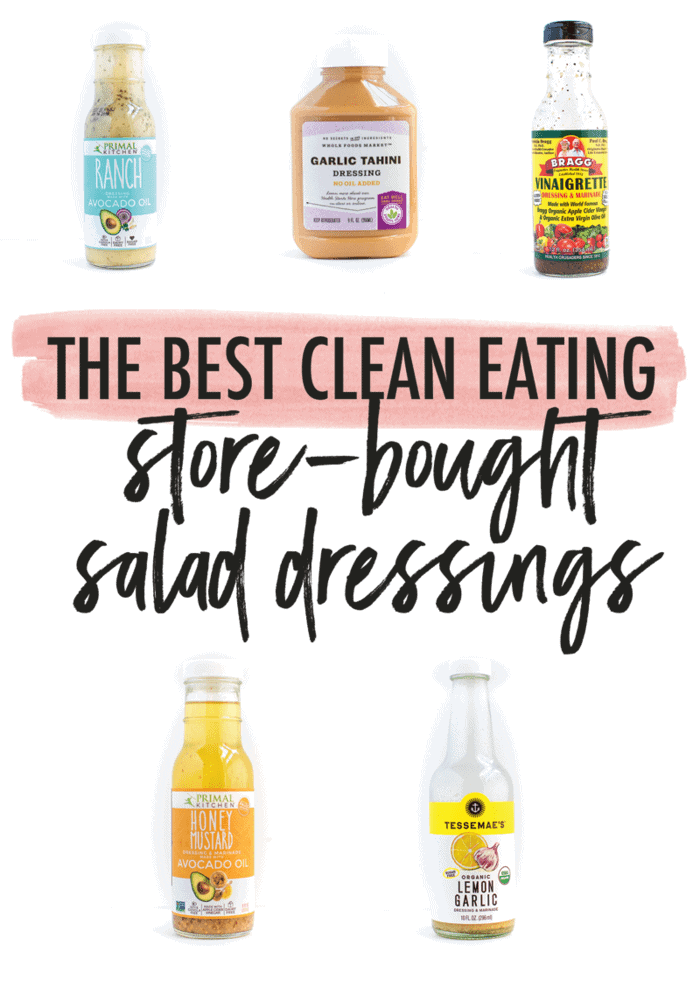 healthy store bought salad dressings