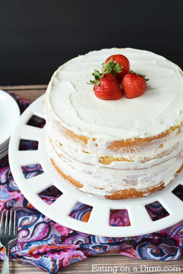 Easiest Cake Make Scratch