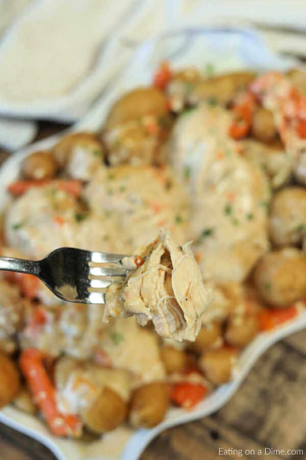Crock Pot Creamy Ranch Chicken Recipe - Easy Ranch Chicken ...