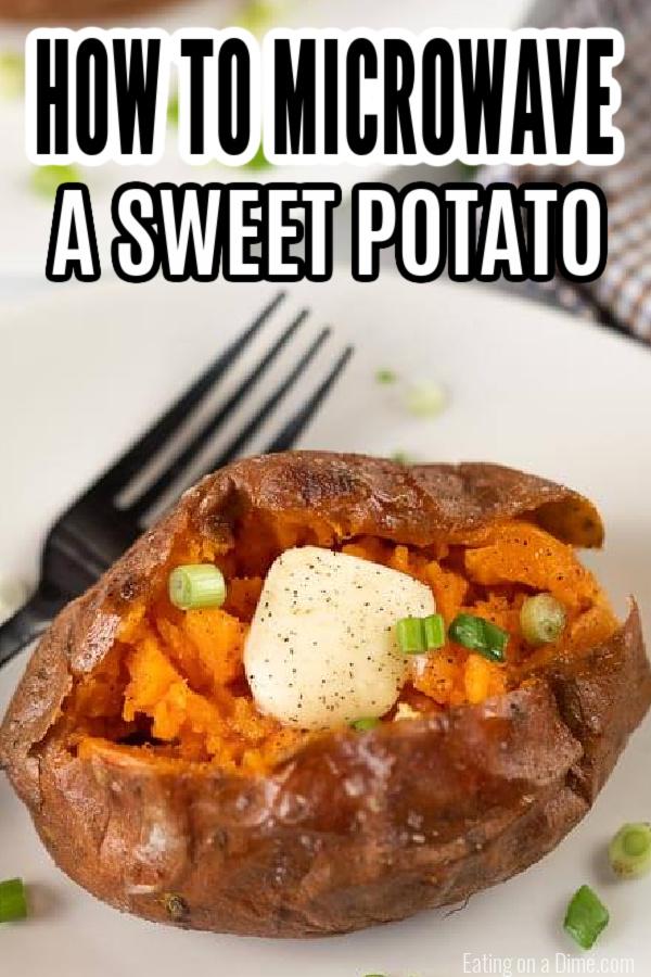 microwave sweet potato recipe