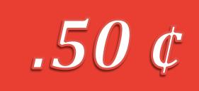 Saigon prices - 50 cents
