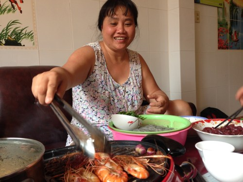 Eating with a Local Saigon Family - Chị Hạnh