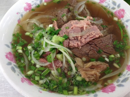 Phở in Saigon