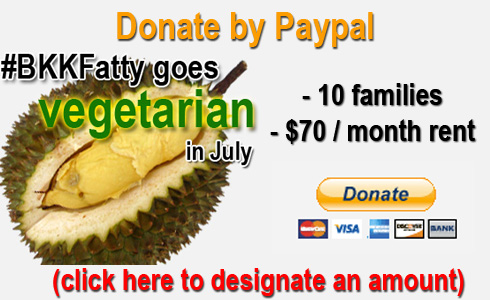 donate now page Eating Thai Food For Good: Announcing our July Food Challenge For Charity