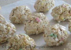 Allergy Free Cereal Bar Eggs for Easter