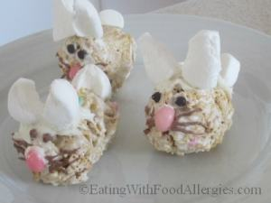 Allergy Free Cereal Bar Bunnies