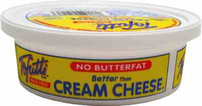 dairy free cream cheese Tofutti