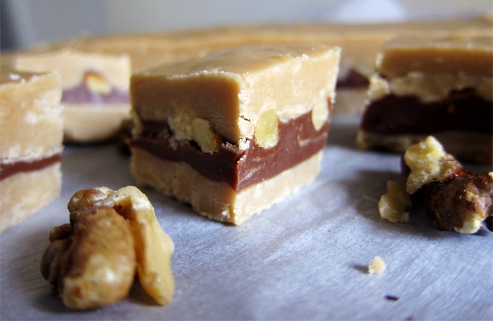 Caramilk Fudge