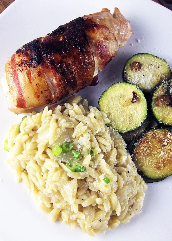parmesan orzo | www.EatLaughPurr.com