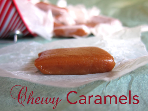 Chewy Caramels