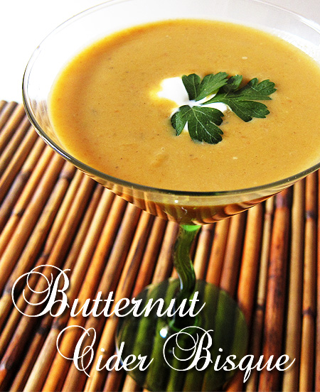 Butternut Cider Bisque