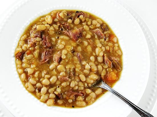 navy bean soup