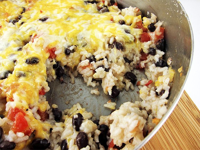 southwest rice and beans